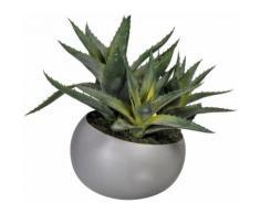 Kunstpflanze Aloe, grün, grün