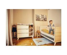 Geuther Babymöbel-Set Schneewittchen, (Spar-Set, 2 St.), mit Kinderbett und Wickelkommode; Made in Germany beige Baby Babybetten Babymöbel Möbel sofort lieferbar