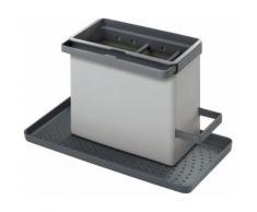 Metaltex Geschirrständer grau Küchenaccessoires Wohnaccessoires
