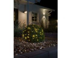 KONSTSMIDE LED Tropfenlichterkette, Draht silberfarben LED-Lampen LED-Leuchten SOFORT LIEFERBARE Lampen Leuchten Dekoleuchten