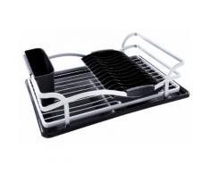 Abtropfkorb Alu schwarz Abtropfgestelle Küchenhelfer Haushaltswaren