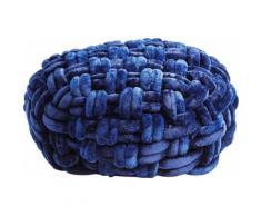 KARE Design Hocker Ovillo, blau, blau