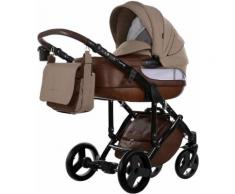 knorr-baby Kombi-Kinderwagen Set, »Sportime Wood Art, braun«, braun, Unisex, braun