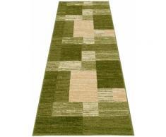 Läufer, Melvin, my home, rechteckig, Höhe 8 mm, maschinell gewebt grün Teppichläufer Läufer Bettumrandungen Teppiche