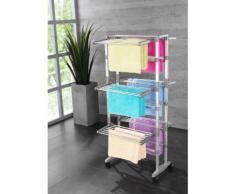 Ruco Turmwäscheständer silberfarben Wäscheständer und Wäschespinnen Wäschepflege Haushaltswaren