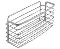 Metaltex Allzweckkorb Eureka silberfarben Küchen-Ordnungshelfer Küchenhelfer Küche Aufbewahrungsboxen