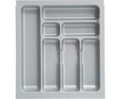 OPTIFIT Besteckeinsatz, passend für Schubkästen der Serien Bern, Parma, Tapa und Ole silberfarben Küchen-Ordnungshelfer Küchenhelfer Küche Schubladeneinsätze