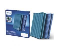 Philips Mikrofaserpad XV1700, 28 cm, (Set, 4 St.), für SpeedPro (Max) Aqua und PowerPro blau Staubsauger SOFORT LIEFERBARE Haushaltsgeräte