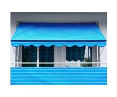 Angerer Freizeitmöbel Balkonsichtschutz, Meterware, blau/weiß, H: 75 cm blau Markisen Garten Balkon Balkonsichtschutz