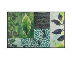 wash & dry Fußmatte waschbar, grün, grün