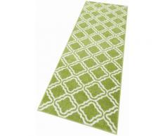 Läufer, Debora, my home, rechteckig, Höhe 13 mm, maschinell gewebt grün Teppichläufer Läufer Bettumrandungen Teppiche