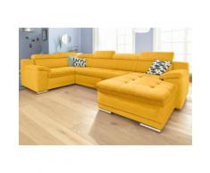 sit&more Wohnlandschaft, gelb, gelb