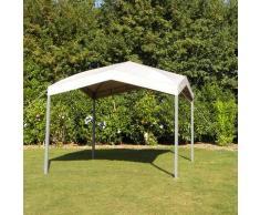 Tepro Pavillon Marabo, BxTxH: 300x300x180 cm grau Pavillons Garten Balkon