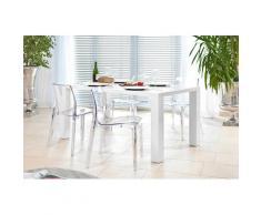 SalesFever Essgruppe (Set, 5-tlg) farblos Essgruppen Tische Sitzmöbel-Sets