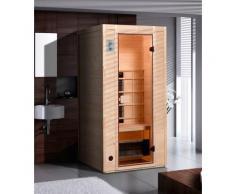 weka Infrarotkabine Provoo 1, 19 mm, geeignet für 1 Person beige Infrarotkabinen Sauna Bad Sanitär