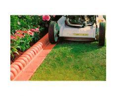 Gaede Rasenkante, Kunststoff rot Rasenkante Rasen- Beetbegrenzung Gartendekoration Gartenmöbel Gartendeko