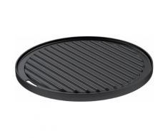 ROESLE Grillplatte Vario, schwarz, schwarz