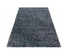 Ayyildiz Hochflor-Teppich Enjoy Shaggy, rechteckig, 50 mm Höhe, Wohnzimmer blau Schlafzimmerteppiche Teppiche nach Räumen