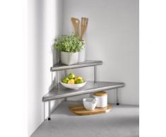 Küchenregal Massivo optimale Lösung für ungenutze Ecken edels Eckregale Regale