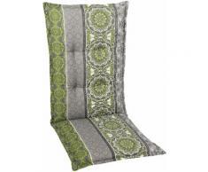GO-DE Sesselauflage Mittellehner grün Gartenstuhlauflagen Gartenmöbel-Auflagen Gartenmöbel Gartendeko