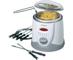BOMANN Fondue FFR 1290 CB weiß 1L 900W Küchenkleingeräte SOFORT LIEFERBARE Haushaltsgeräte