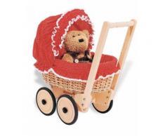 """Pinolino Puppenwagen """"Mona - Pünktchen"""", rot, Damen, rot"""