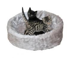 SILVIO design Tierbett Ruhe- und Schlafinsel, BxLxH: 50x50x12 cm, grau beige Hundebetten -decken Hund Tierbedarf