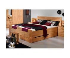 rauch BLACK Massivholzbett Sitara, mit Sockelschubkästen braun Massivholzbetten Betten Schlafzimmer