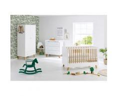 Pinolino Babyzimmer-Komplettset Pan (Set, 3-tlg) weiß Baby Baby-Möbel-Sets Babymöbel Schlafzimmermöbel-Sets