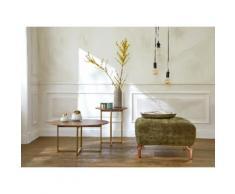 Guido Maria Kretschmer Home&Living Beistelltisch Culemeyer braun Holz-Beistelltische Holztische Tische Tisch