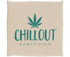 herbalind Kräuterkissen Hanfkissen Chillout 5027, (1 tlg.) weiß Bettdecken Kopfkissen