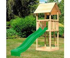 ABUKI Spielturm Rosie, BxTxH: 107x107x291 cm beige Kinder Outdoor-Spielzeug