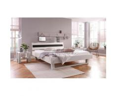 Home affaire Polsterauflage Volme, für die gleichnamigen Kopfteile schwarz Doppelbetten Betten