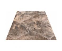 Teppich, Falco, Home affaire, rechteckig, Höhe 12 mm, maschinell gewebt grau Gewebte Teppiche Orientteppich