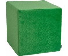 Hock Sitzwürfel Soft Nobile 45/45/45 cm HOCK, grün, grün