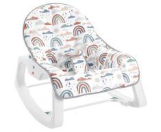Fisher-Price Babyschaukel Regenbogen, bis 18 kg bunt Baby Ab Geburt Altersempfehlung