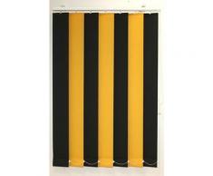 sunlines Lamellenvorhang nach Maß Verein gelb Lamellen Rollos Jalousien