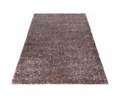 Ayyildiz Hochflor-Teppich Enjoy Shaggy, rechteckig, 50 mm Höhe, Wohnzimmer rosa Schlafzimmerteppiche Teppiche nach Räumen