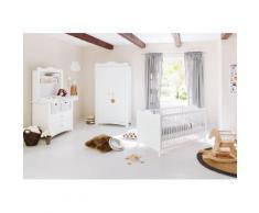 Pinolino Babyzimmer-Komplettset Florentina (Set, 4-tlg) weiß Baby Baby-Möbel-Sets Babymöbel Schlafzimmermöbel-Sets