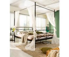 Home affaire Metallbett Thora, aus schönem Metall, in unterschiedlichen Größen und Farben schwarz Doppelbetten Betten