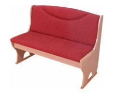 Polsterbank Madrid, (1 St.), Mit Gasdruckfeder rot Truhenbänke Sitzbänke Stühle
