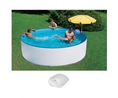 SUMMER FUN Rundpool, 2-tlg., ØxH: 360x84 cm weiß Rundpool Swimmingpools Pools Planschbecken Garten Balkon