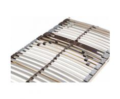 Lattenrost, Universal LR-K H4, Beco, Kopfteil manuell verstellbar Federholzrahmen Lattenroste Matratzen und Lattenrost