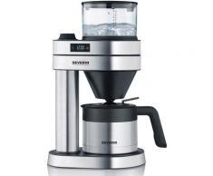 "Severin Filterkaffeemaschine KA 5761 ""Caprice"", Papierfilter, 1x4 silberfarben Kaffee Espresso SOFORT LIEFERBARE Haushaltsgeräte"