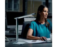 BKLichtLED Schreibtischlampe, weiß, weiß
