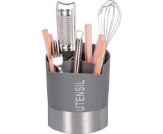 Zeller Present Besteckhalter, (1 tlg.), mit 3 getrennten Fächer grau Besteckhalter Küchen-Ordnungshelfer Küchenhelfer Küche