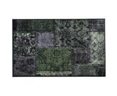 Fußmatte PATCH grün Fußmatten gemustert