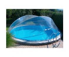 KWAD Poolüberdachung Cabrio Dome, ØxH: 370x145 cm farblos Poolzubehör -reinigung Pools Planschbecken Garten Balkon