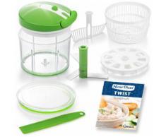 Genius Zerkleinerer Nicer Dicer Twist grün Mixer Haushaltsgeräte