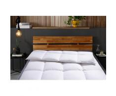 Otto Keller Daunenbettdecke Star, warm, Füllung 100% Daunen, Bezug Baumwolle, (1 St.) weiß Allergiker Bettdecke Bettdecken Bettdecken, Kopfkissen Unterbetten